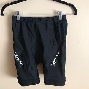 Zoot | Size LG. Black Biking Shorts